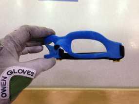 运动护目镜 3D模型