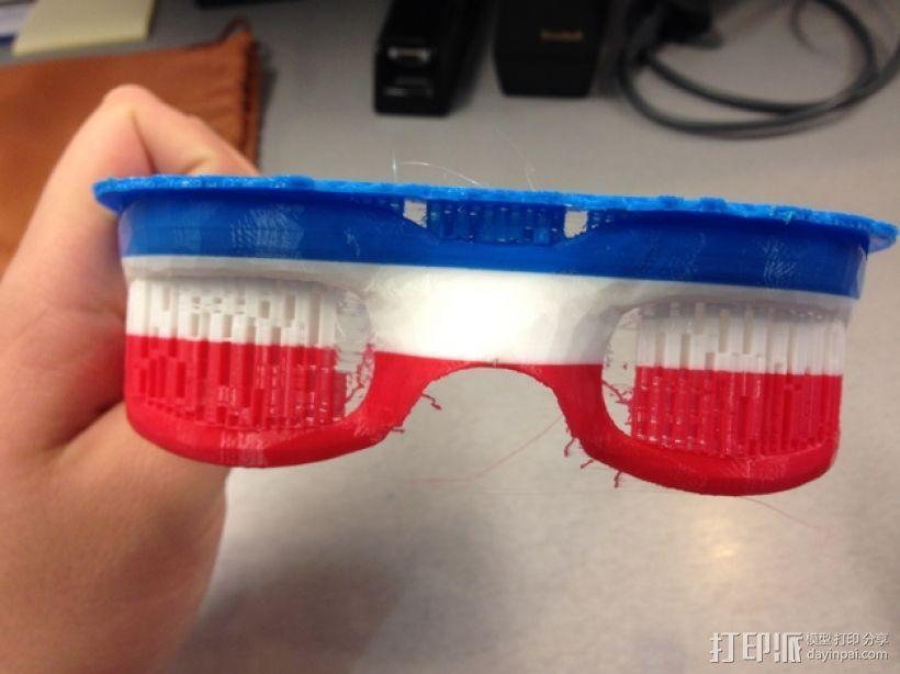 运动护目镜 3D模型  图5