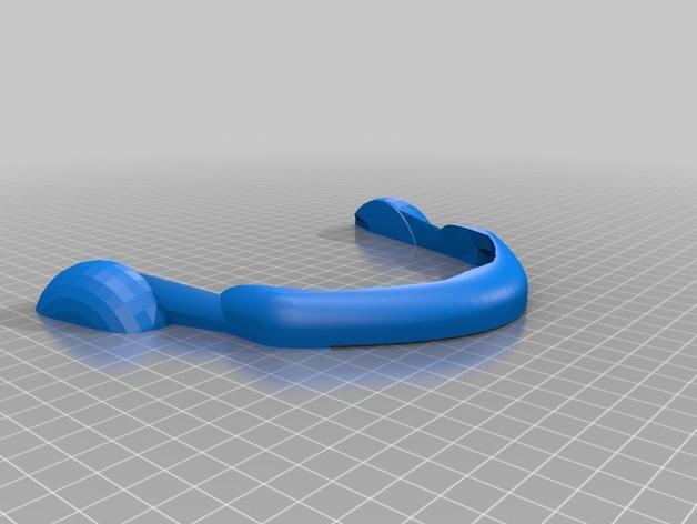 镭射眼镜  3D模型  图3