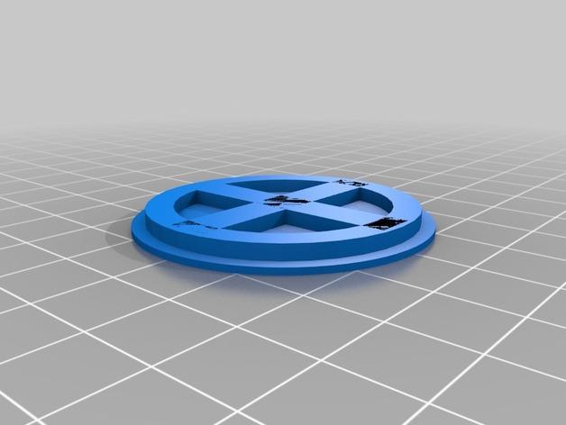 镭射眼镜  3D模型  图2