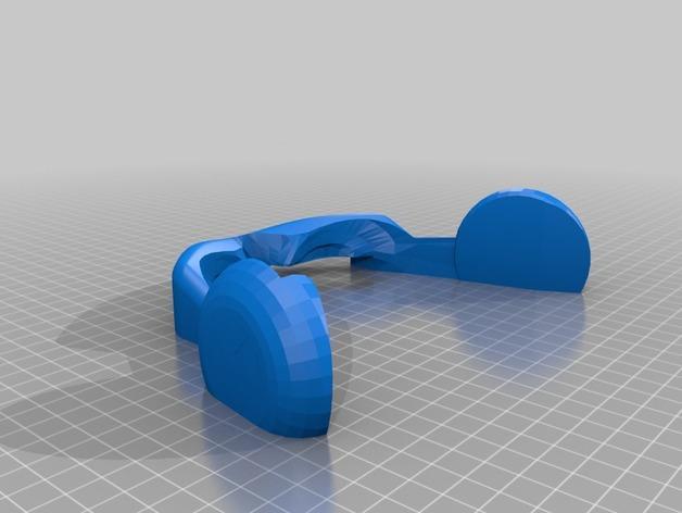 镭射眼镜  3D模型  图4
