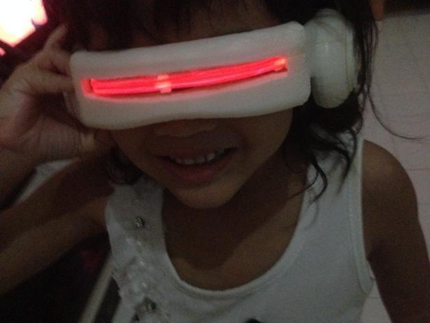 镭射眼镜  3D模型  图6