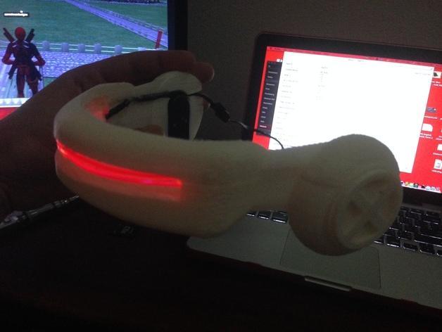 镭射眼镜  3D模型  图7