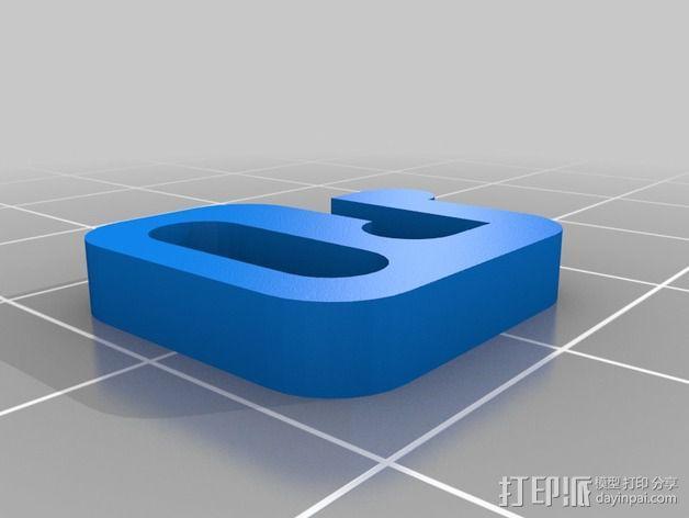 手绳 搭扣 3D模型  图2