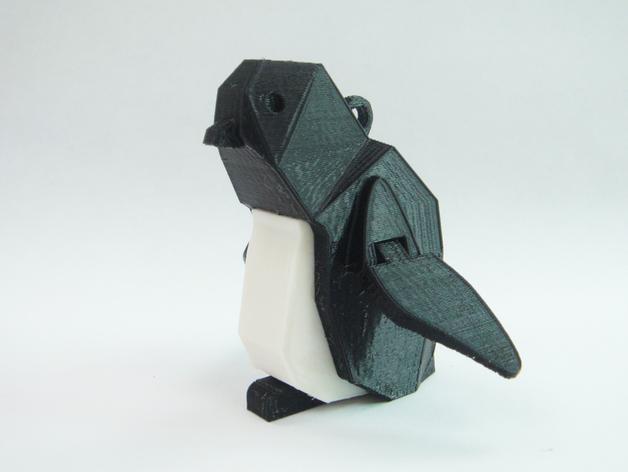 企鹅 吊坠 3D模型  图4