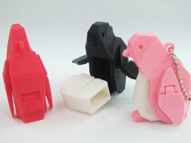 企鹅 吊坠 3D模型  图3