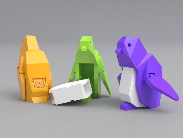 企鹅 吊坠 3D模型  图5
