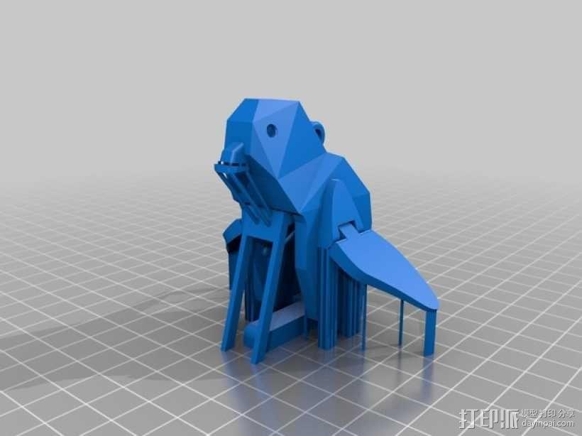企鹅 吊坠 3D模型  图7