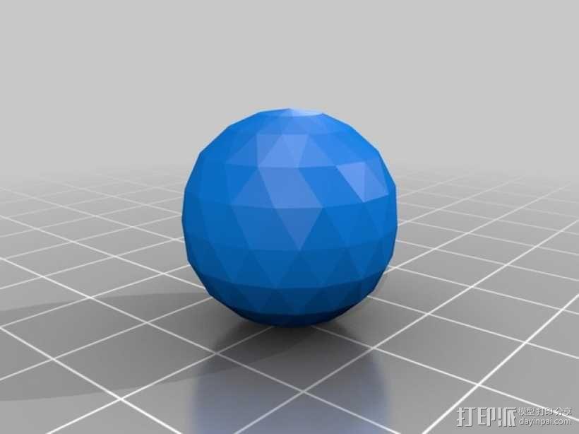 钻石 模型 3D模型  图2
