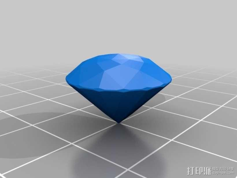 钻石 模型 3D模型  图4