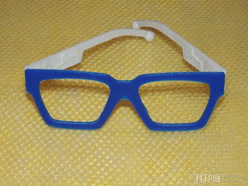 波普风眼镜  3D模型  图8