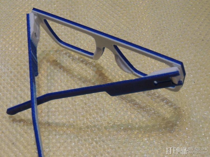 波普风眼镜  3D模型  图10