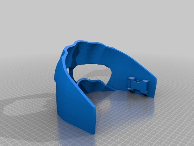 Piinu战争面具 3D模型  图3