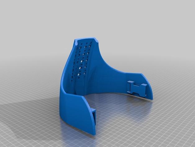 Piinu战争面具 3D模型  图4