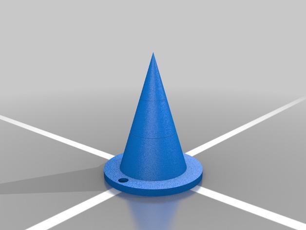 Terezi Pyrope角色扮演 尖角头饰 3D模型  图1