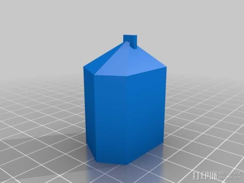 蒸汽朋克变色吊坠 3D模型  图4