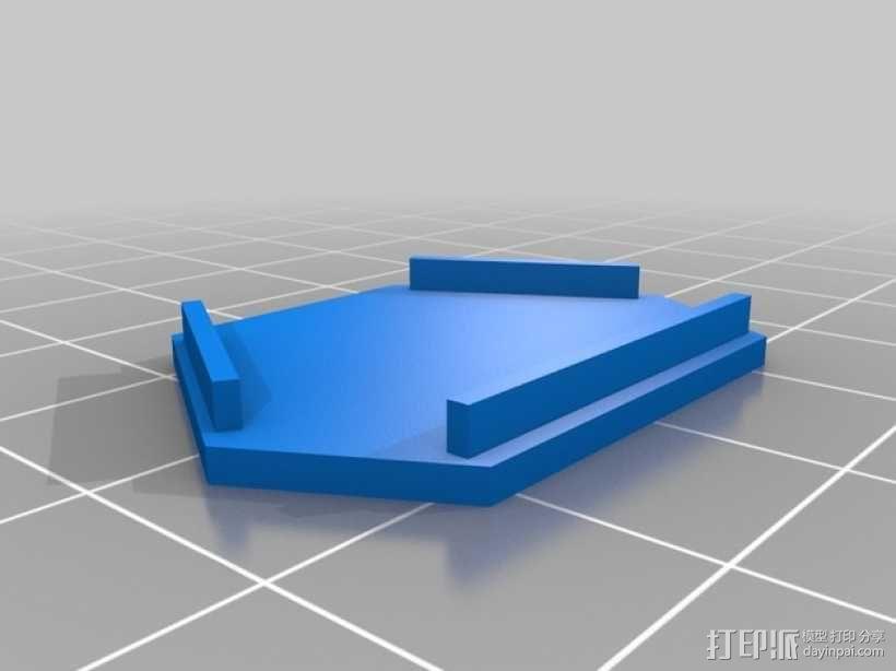 蒸汽朋克变色吊坠 3D模型  图5