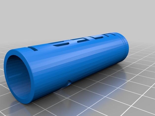 电池形 钥匙坠 3D模型  图3