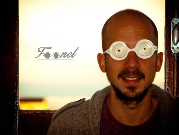 漏斗眼镜 3D模型  图6