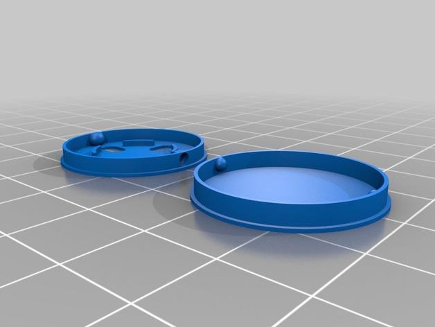 NeoPixel 发光纽扣 3D模型  图5