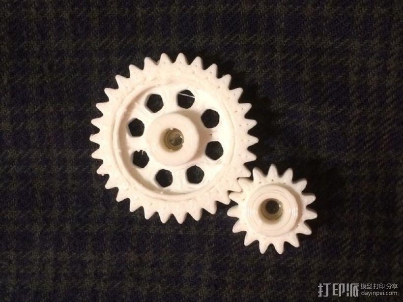 Zheng 3 小齿轮 3D模型  图1