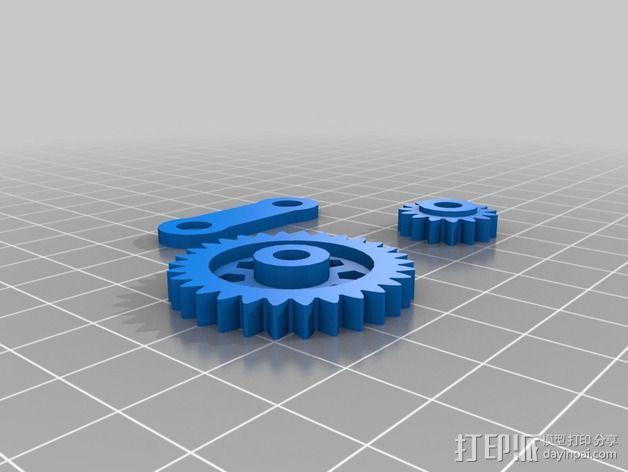 Zheng 3 小齿轮 3D模型  图2