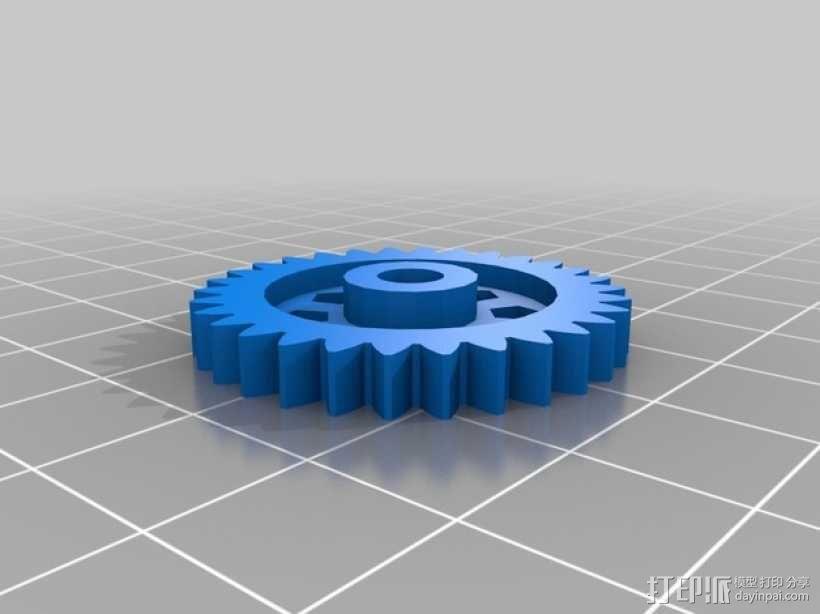 Zheng 3 小齿轮 3D模型  图4