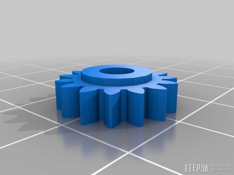 Zheng 3 小齿轮 3D模型  图5