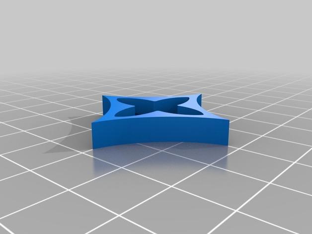 Louis Vuitton 路易威登标志 钥匙坠 3D模型  图5