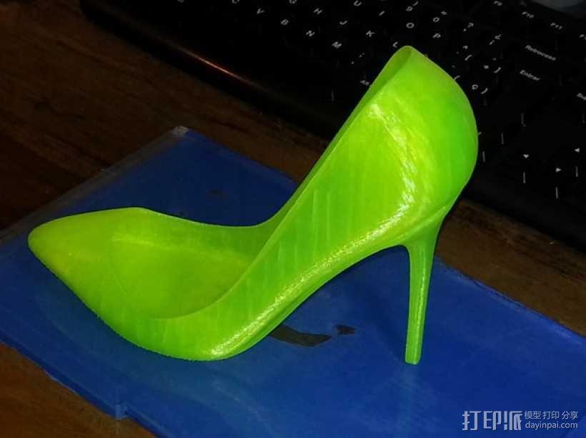 高跟鞋 3D模型  图1