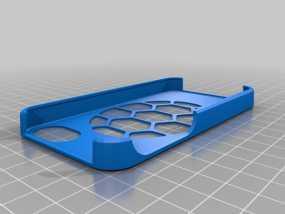 马里兰大学标志  iPhone 4(s) 手机套 3D模型