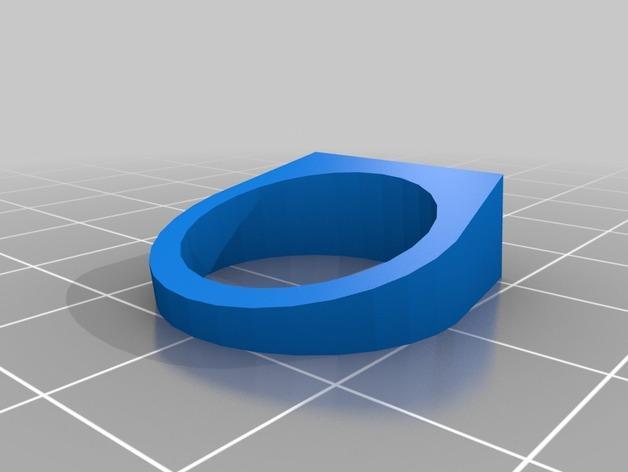 几何体 戒指 3D模型  图2