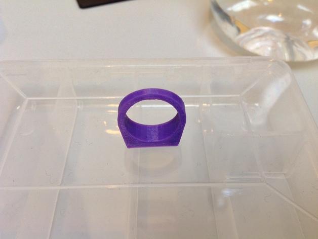 几何体 戒指 3D模型  图3