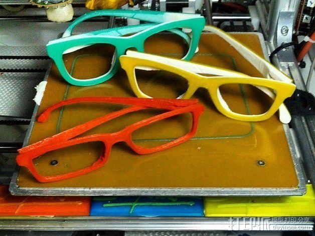 Occhiali眼镜 3D模型  图2