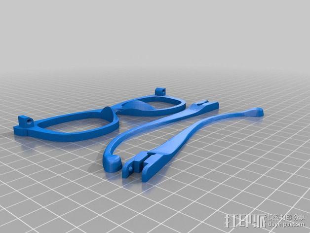 Occhiali眼镜 3D模型  图6
