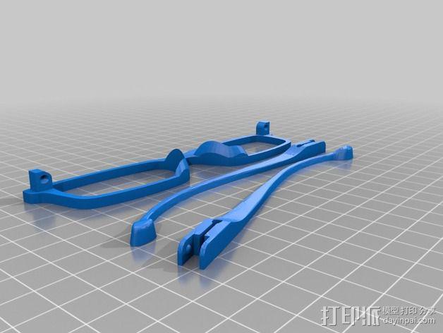 Occhiali眼镜 3D模型  图7