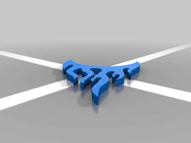 棒球标志 吊坠 3D模型  图3