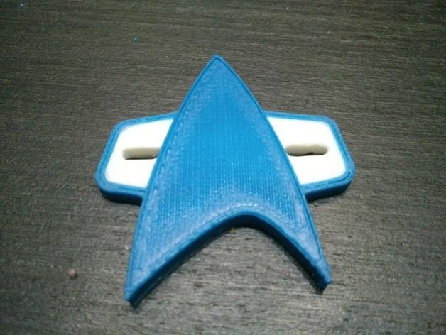 星际迷航 标志 3D模型  图2