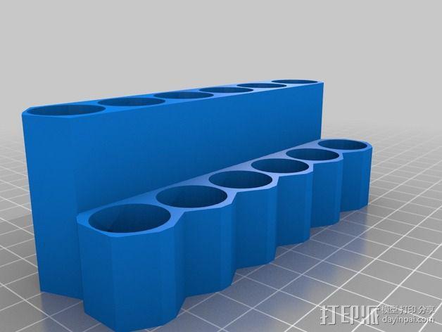 唇膏架  3D模型  图2