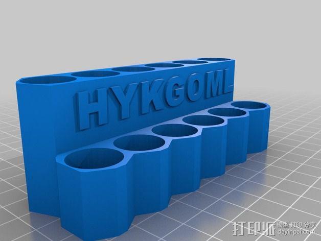 唇膏架  3D模型  图3