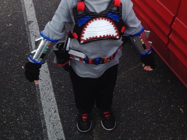 鲨鱼服 3D模型  图1