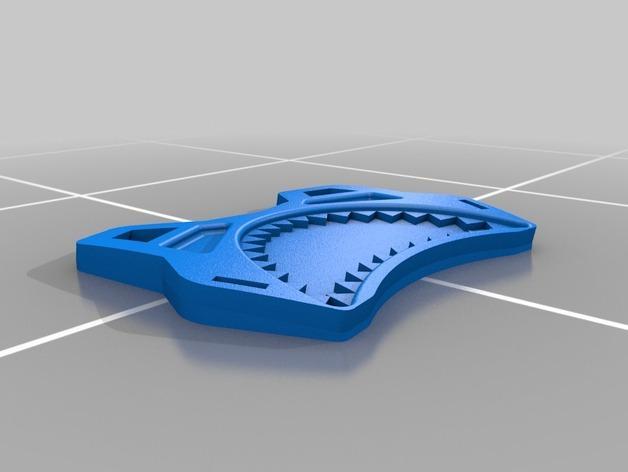 鲨鱼服 3D模型  图3