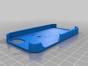 杰尼龟 iPhone 4手机套 3D模型