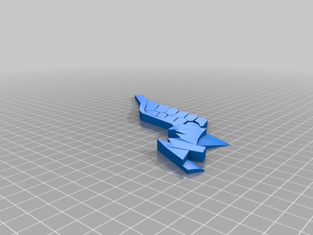 神奇女侠之剑 3D模型  图2