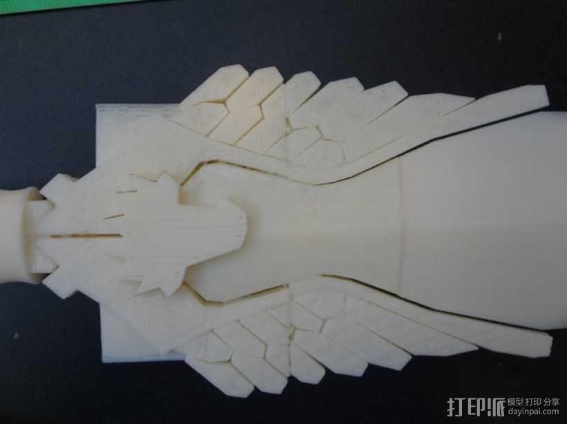 神奇女侠之剑 3D模型  图1