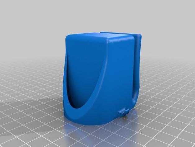 LED低面数 面具 3D模型  图2