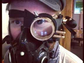 单只 朋克风护目镜 3D模型