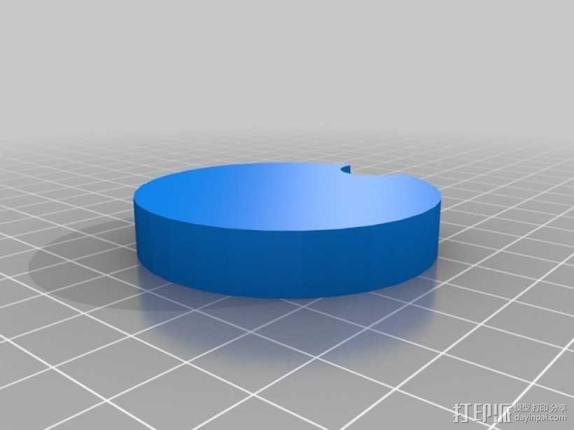 单只 朋克风护目镜 3D模型  图4