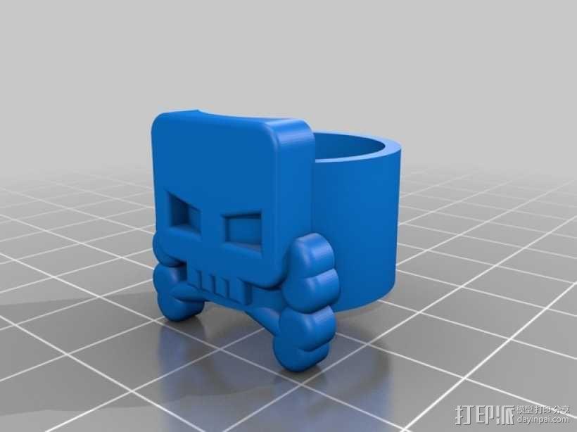 海盗 戒指 3D模型  图1
