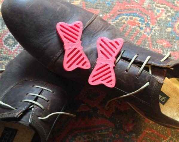 蝴蝶结 鞋饰 3D模型  图2